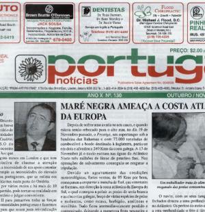 PORTUGAL NEWS: Oct–Nov 2002 Issue 130