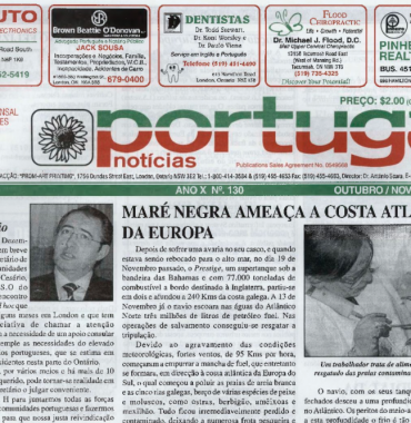 PORTUGAL NEWS: Oct–Nov 2002 Issue 130