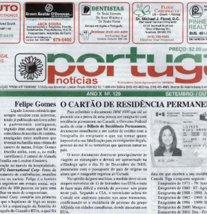 PORTUGAL NEWS: Sept–Oct 2002 Issue 129