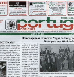 PORTUGAL NEWS: Apr–May 2003 Issue 136