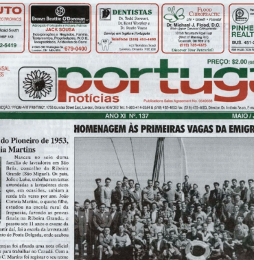 PORTUGAL NEWS: May–Jun 2003 Issue 137