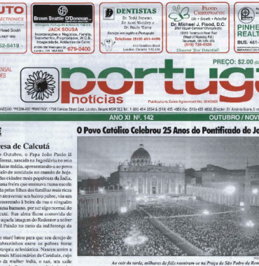 PORTUGAL NEWS: Oct–Nov 2003 Issue 142