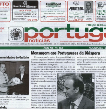 PORTUGAL NEWS: Aug–Sept 2004 Issue 152