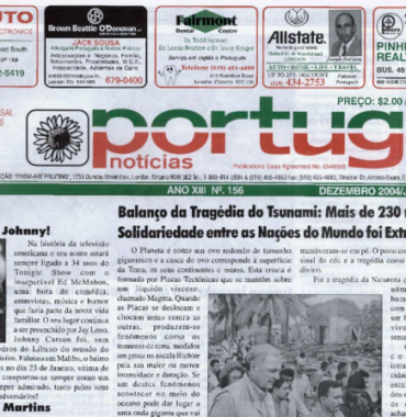 PORTUGAL NEWS: Dec-Jan 2004-5 Issue 156