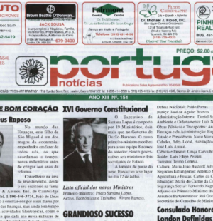 PORTUGAL NEWS: Jul 2004 Issue 151