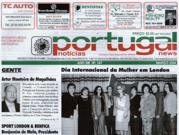PORTUGAL NEWS: Mar 2004 Issue 147