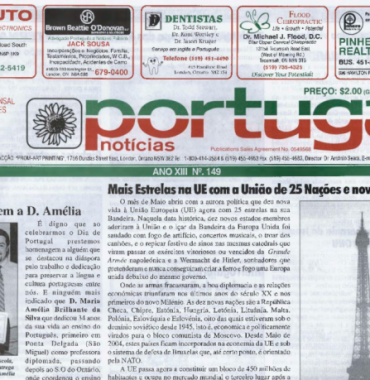 PORTUGAL NEWS: May 2004 Issue 149