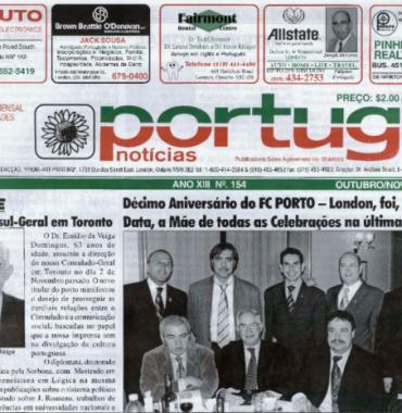PORTUGAL NEWS: Oct–Nov 2004 Issue 154