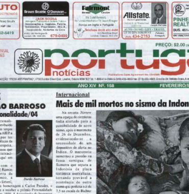 PORTUGAL NEWS: Feb–Mar 2005 Issue 158