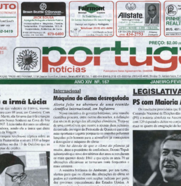 PORTUGAL NEWS: Jan–Feb 2005 Issue 157