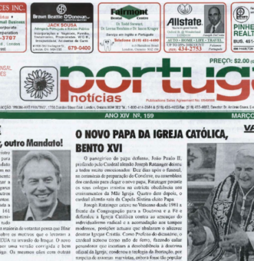 PORTUGAL NEWS: Mar–Apr 2005 Issue 159