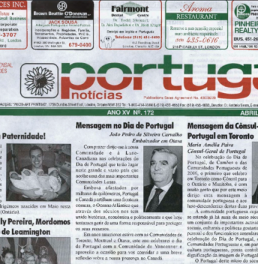 PORTUGAL NEWS: Apr–May 2006 Issue 172