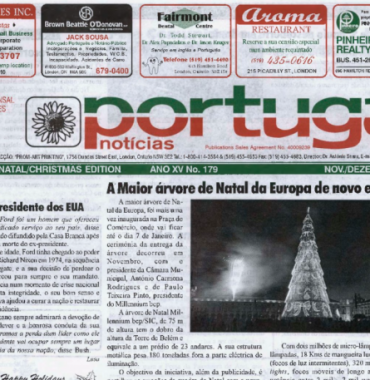 PORTUGAL NEWS: Nov–Dec 2006 Issue 179