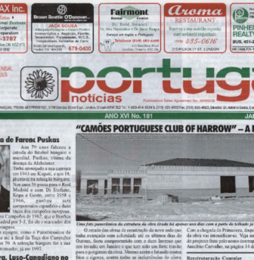 PORTUGAL NEWS: Jan–Feb 2007 Issue 181