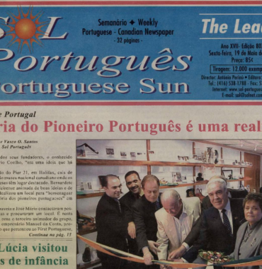 SOL PORTUGUES: 2000/05/19 Issue 807