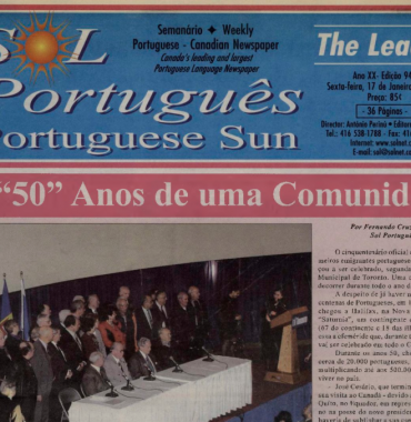 SOL PORTUGUES: 2003/01/17 Issue 946