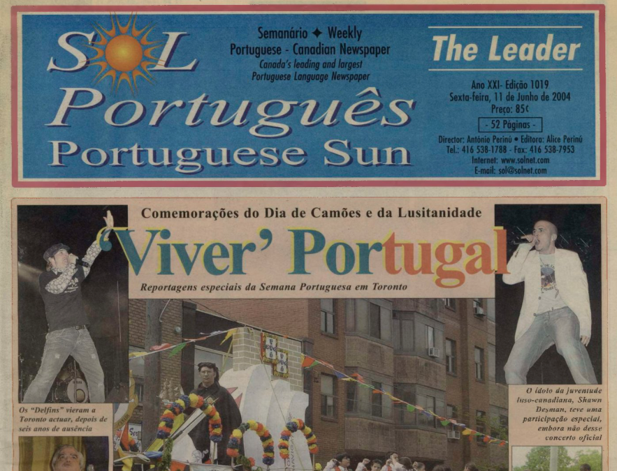 SOL PORTUGUES: 2004/06/11 Issue 1019