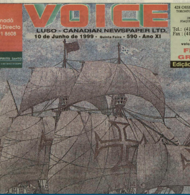 VOICE OF PORTUGAL: 1999/06/10 Issue 590