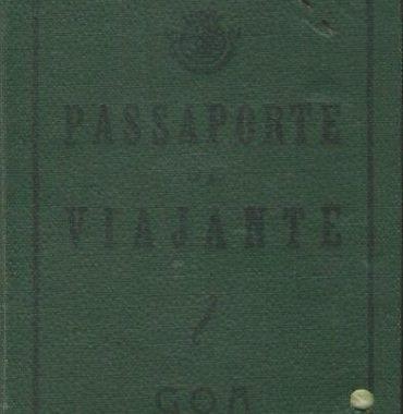 GOA: Passaporte de Viajante