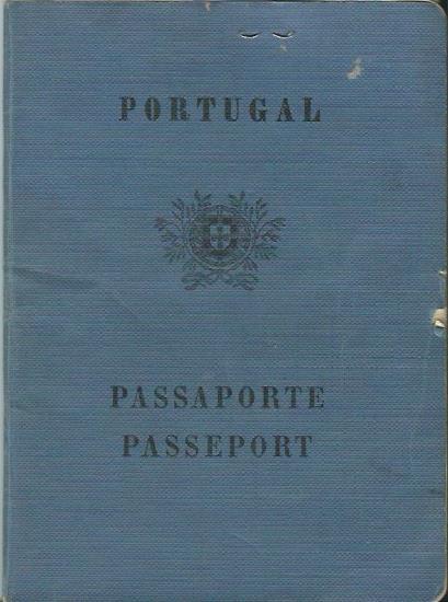 PORTUGAL: Passports (1950s & 60s)