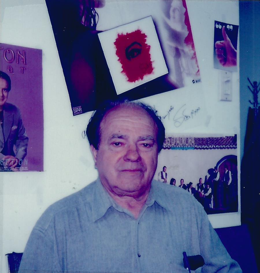 Portrait of Manuel Vieira