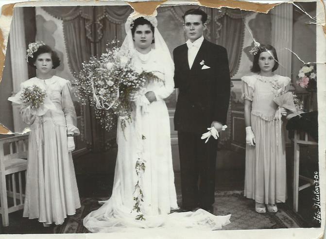 Fernanda and Antonio Gomes Wed
