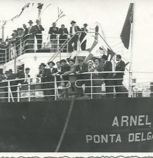 Arnel Ship in Ponta Delgada