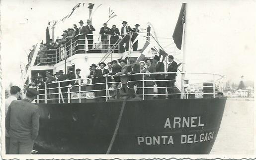 Arnel Ship in Ponta Delgada