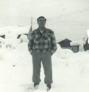 Manuel Gomes experiences snow in Canada