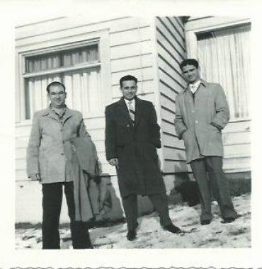 Jose Patricio, Jack Patricio and Agostinho Silva