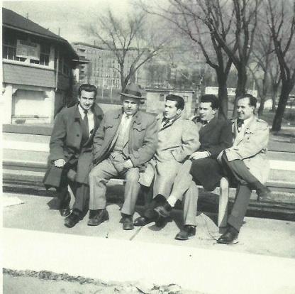 Fernando Ramalho, Jose Ramalho, Antonio Sousa, Jose Azevedo and Amaro