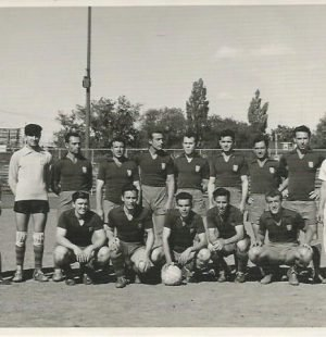 The 1st soccer team at First Portuguese Canadian Club