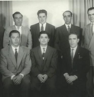 The Second Board of Directors of the First Portuguese Canadian Club