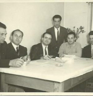 The Founders of the Portuguese Club of Vancouver