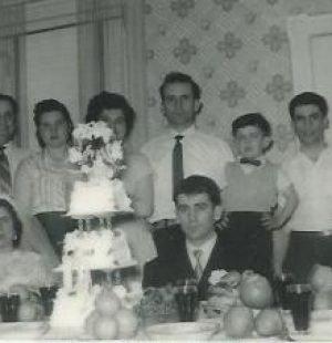 The wedding ceremony of Sabino and Natividade Goncalves