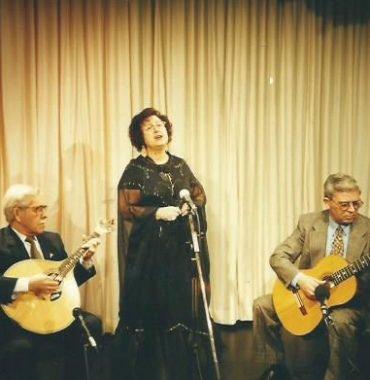Antonio Amaro, Dina Maria and Leonardo Medeiros