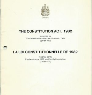 The Constitution Act, 1982