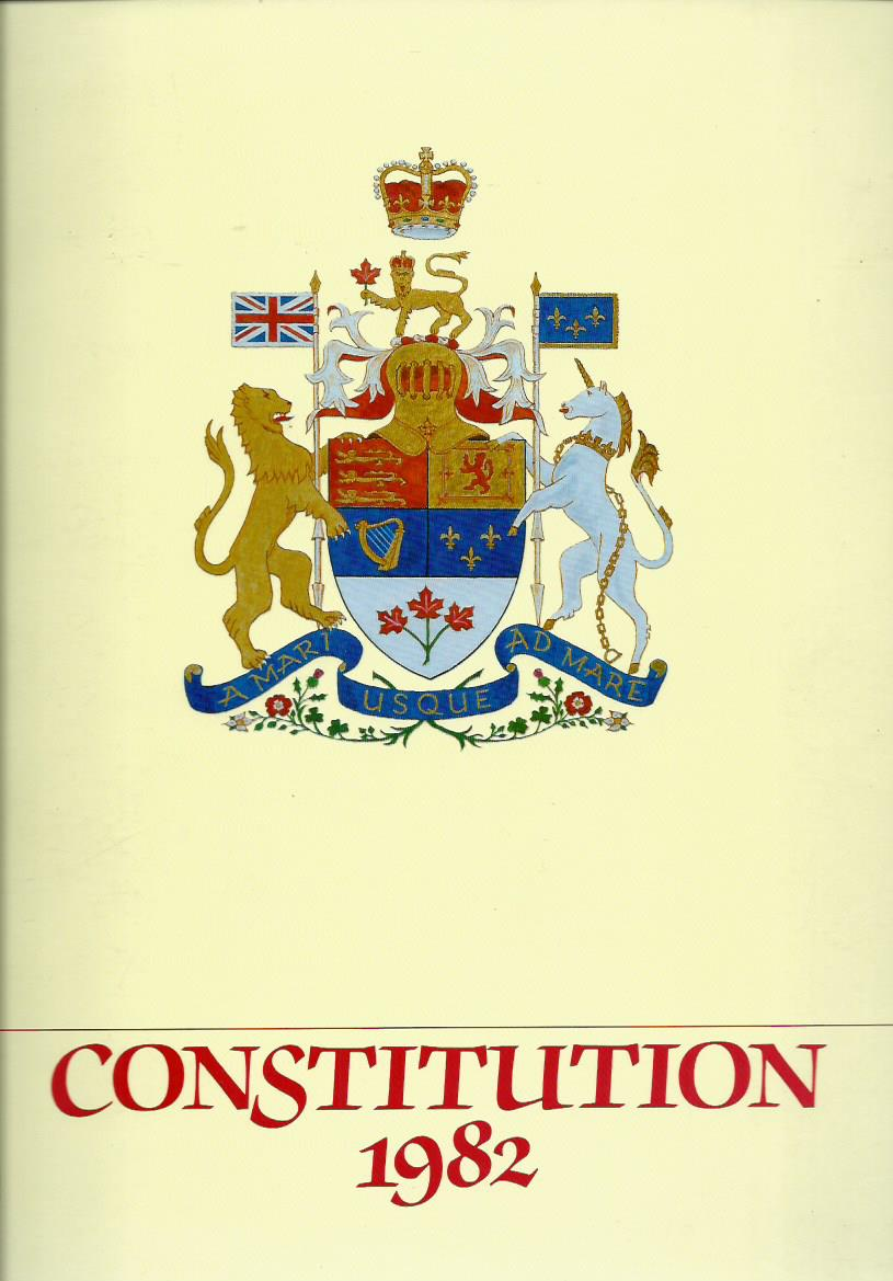 Patriation of the Constitution of Canada 1982: A Pictorial Record